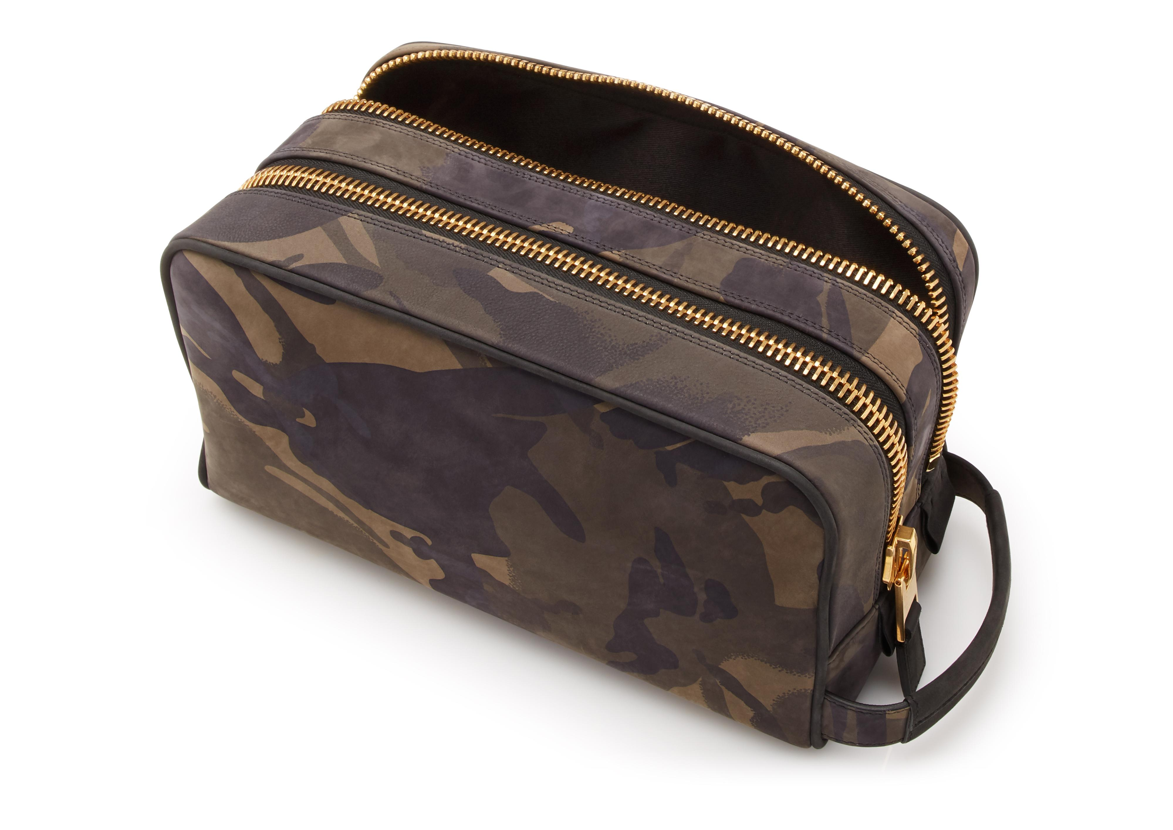CAMOUFLAGE DOUBLE ZIP DOPP KIT D thumbnail
