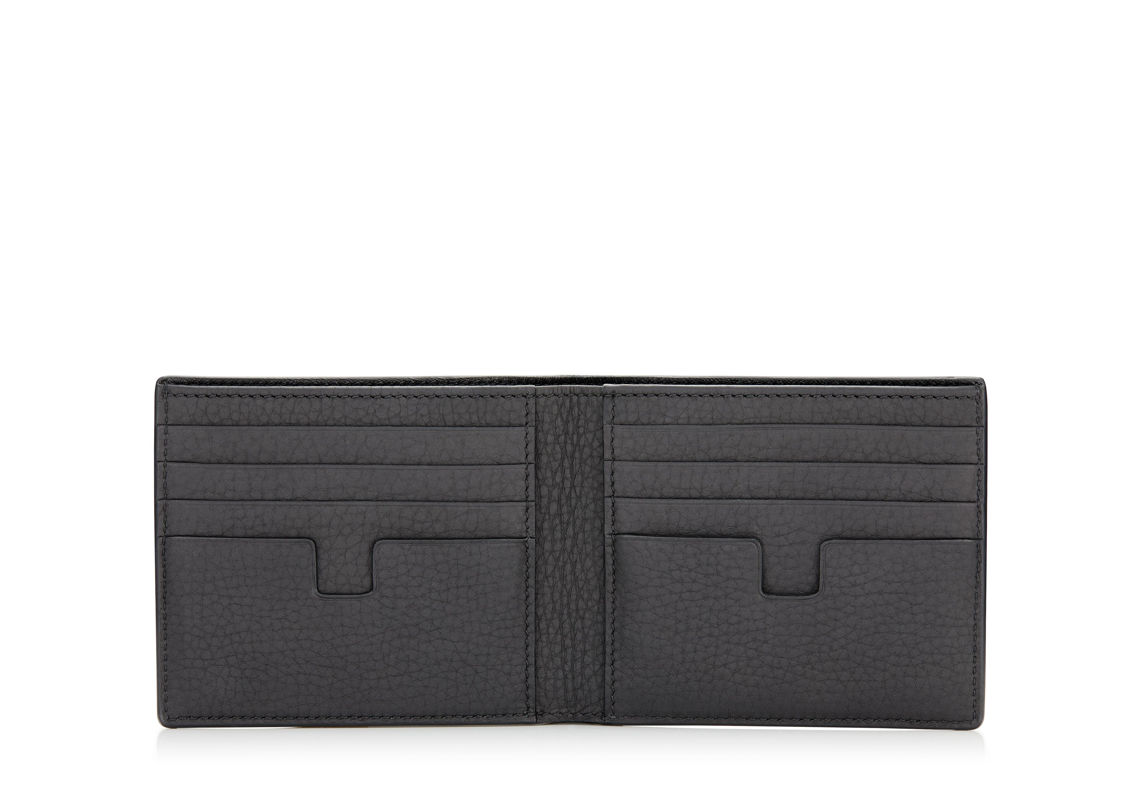 GRAINED LEATHER BIFOLD WALLET B thumbnail