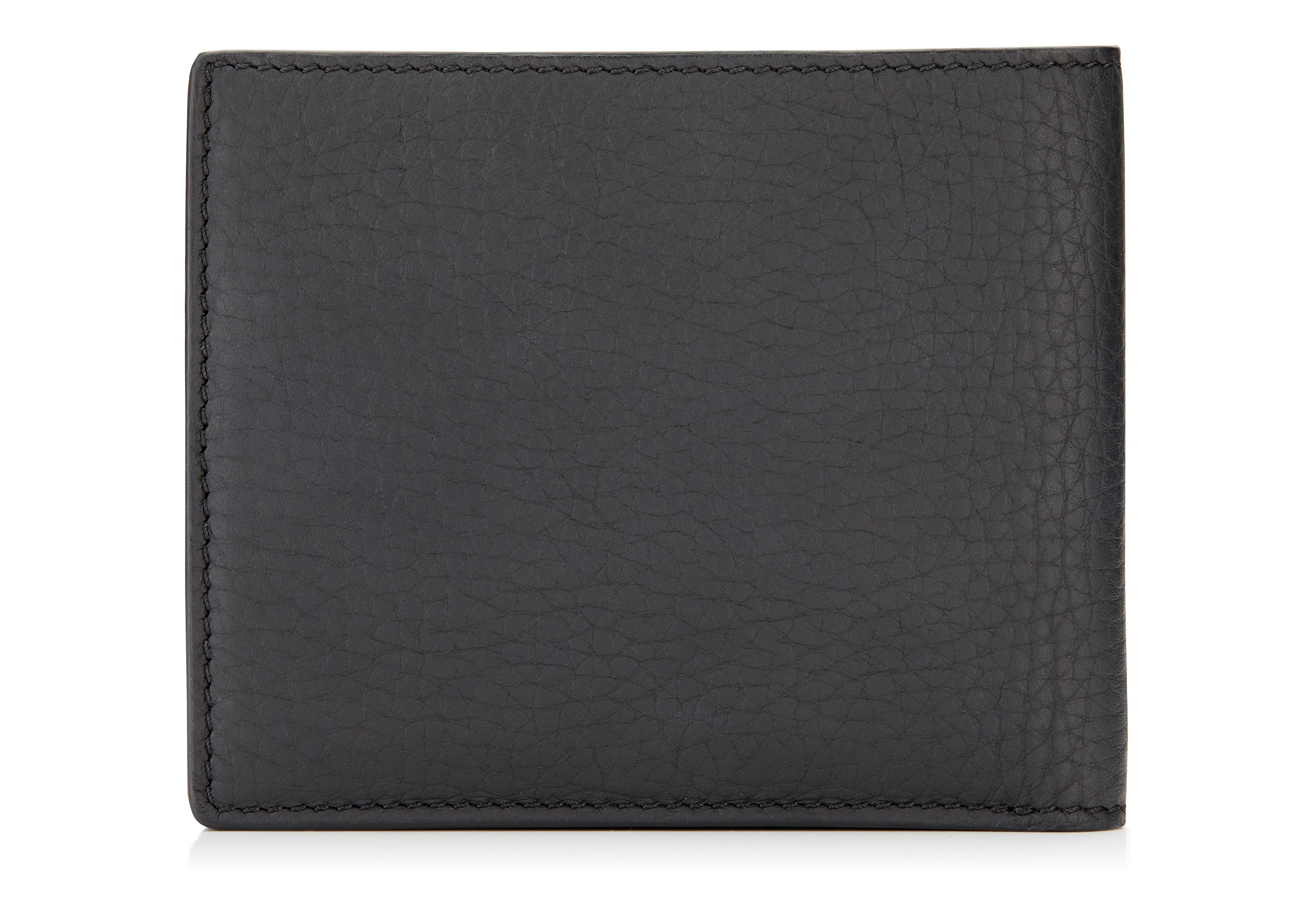 GRAINED LEATHER BIFOLD WALLET C thumbnail