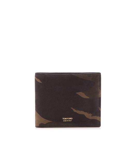 CAMOUFLAGE BIFOLD WALLET