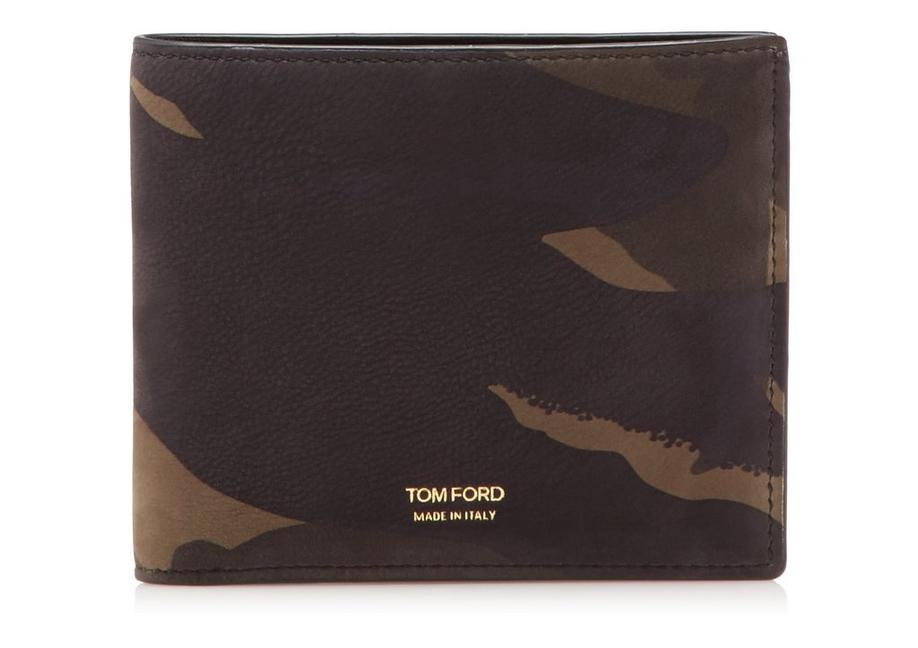 CAMOUFLAGE BIFOLD WALLET A fullsize