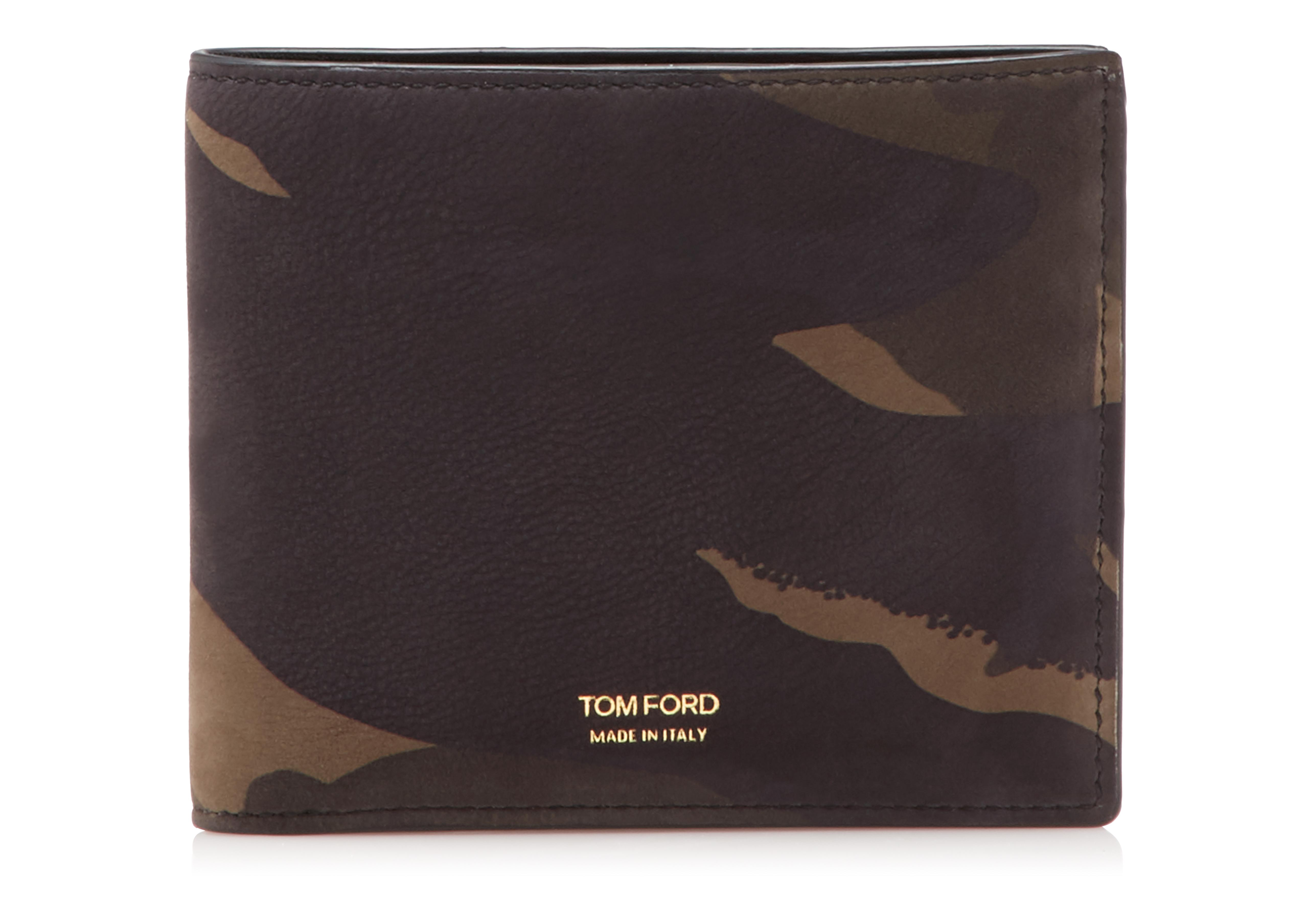 CAMOUFLAGE BIFOLD WALLET A thumbnail