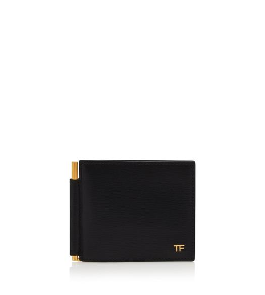 T LINE MONEY CLIP WALLET