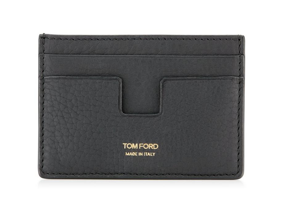 GRAINED LEATHER CLASSIC CARD HOLDER A fullsize