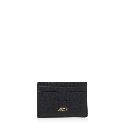 GRAINED LEATHER CLASSIC CARDHOLDER