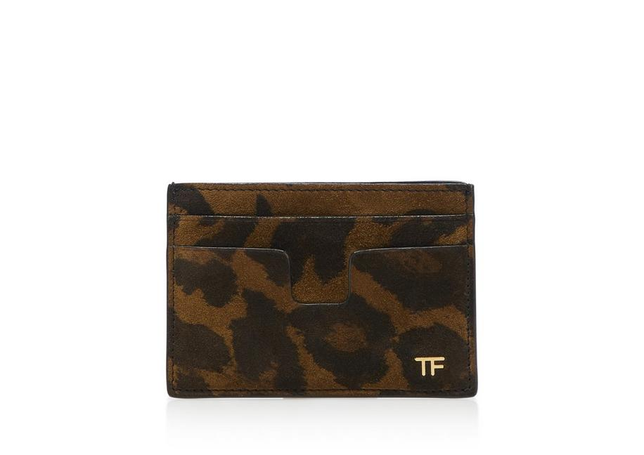 LEOPARD T CARD HOLDER A fullsize