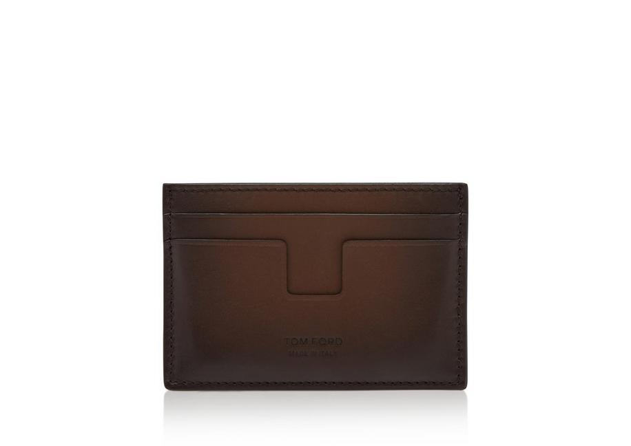 SHADED LEATHER CLASSIC CARDHOLDER A fullsize