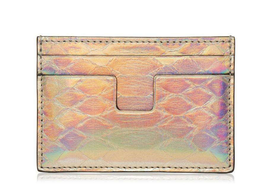 PLATINUM PYTHON T LINE CARD HOLDER A fullsize