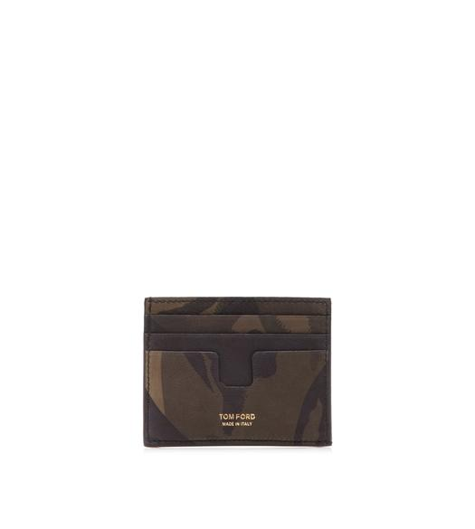12504dae15 CAMOUFLAGE OPEN SIDE CARDHOLDER