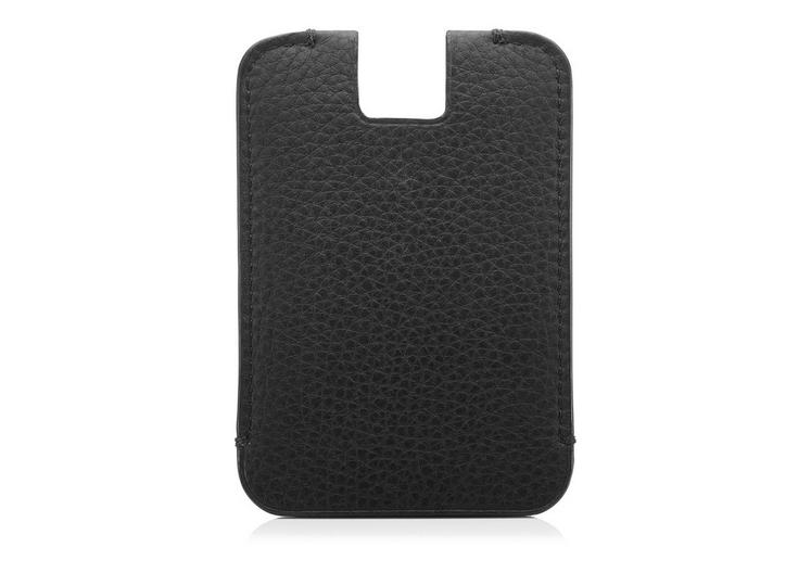 GRAINED LEATHER PUSH OUT CARD HOLDER B fullsize