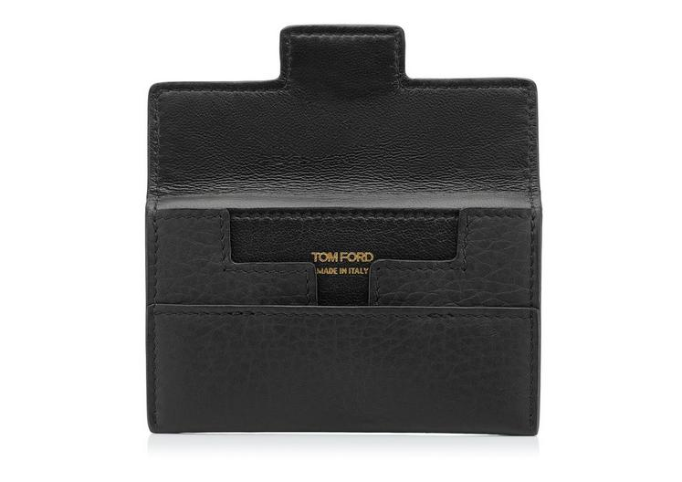 GRAINED LEATHER ENVELOPE CARD HOLDER B fullsize