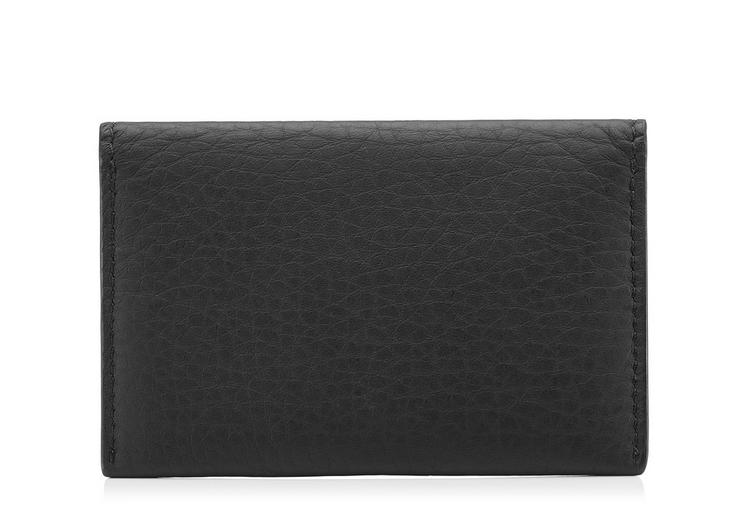 GRAINED LEATHER ENVELOPE CARD HOLDER C fullsize