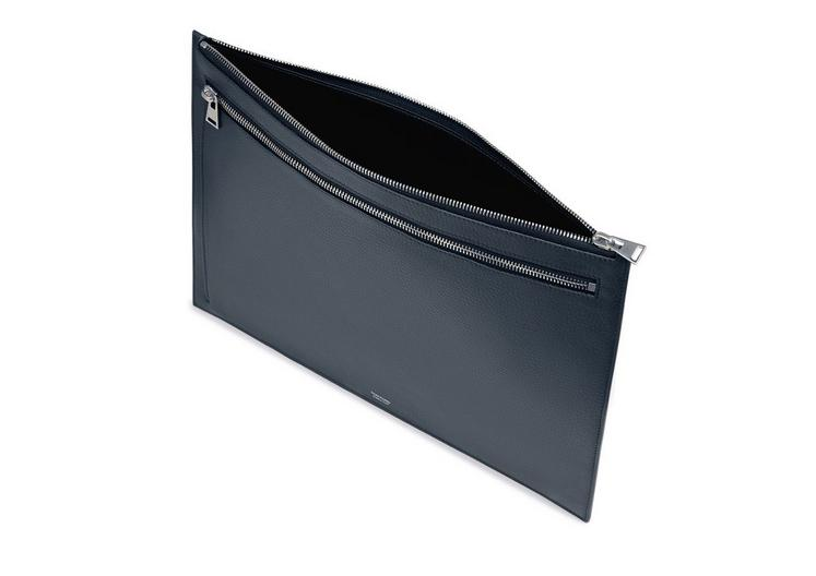 GRAINED LEATHER FLAT PORTFOLIO D fullsize