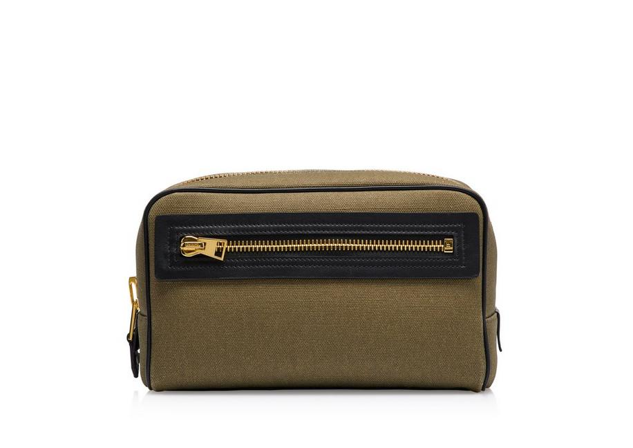 CANVAS SINGLE ZIP DOPP KIT A fullsize