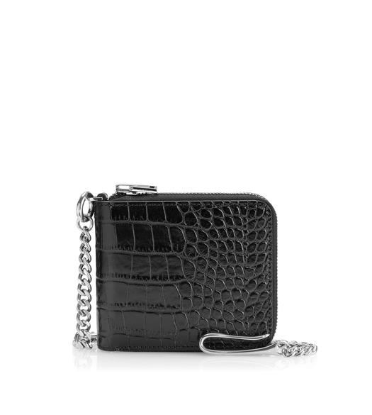 ALLIGATOR CHAIN WALLET