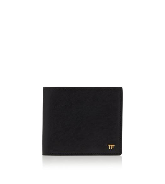 GRAIN LEATHER T LINE BIFOLD WALLET