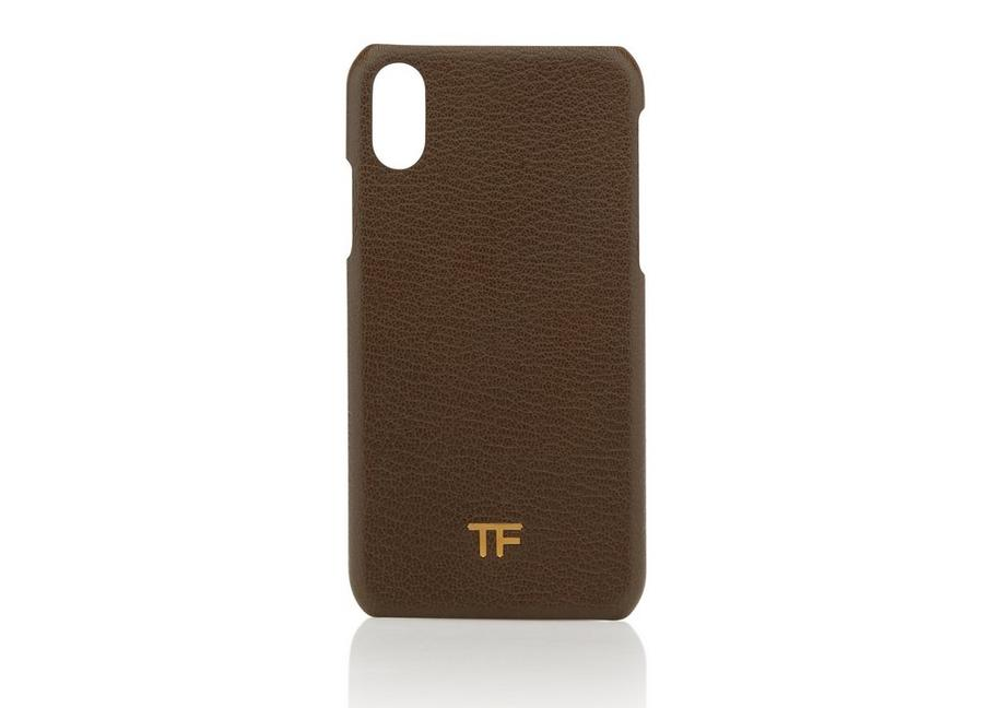 GRAIN LEATHER PHONE CASE A fullsize