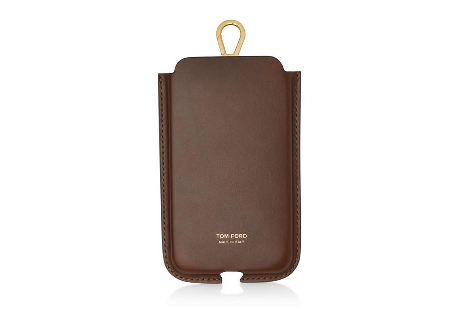 SMOOTH LEATHER IPHONE CASE WITH STRAP A fullsize