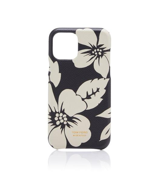 GRAPHIC FLORAL IPHONE CASE
