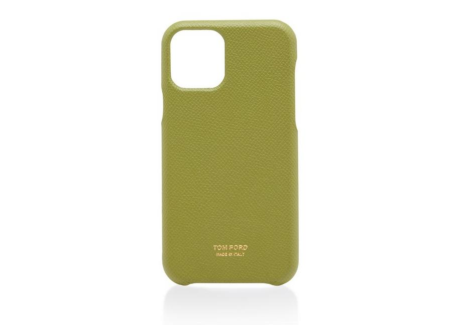 SMALL GRAIN LEATHER IPHONE CASE A fullsize