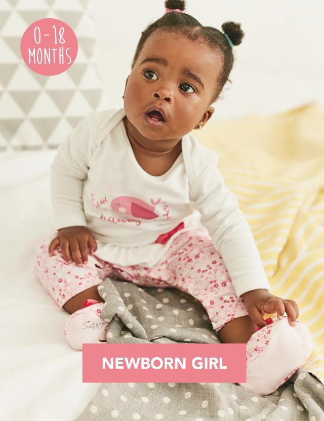 Naartjie Newborn Girls