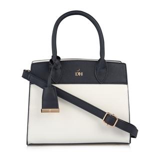 f0ac2c59f519 Quick Shop · Daniel Hechter - Navy   White Shopper Bag