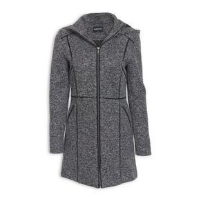 Grey Melange Coat
