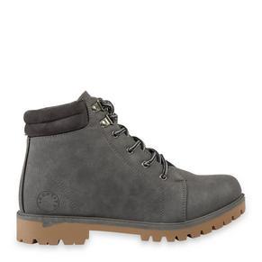 Grey Worker Boot