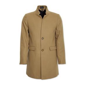 Stone Melton Coat