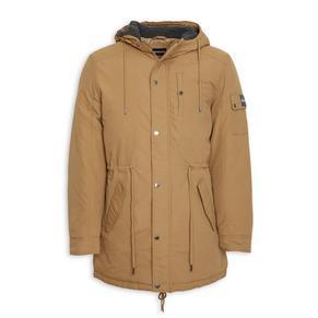 Tan Parka Jacket