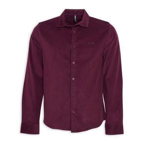 Burgundy Regular Shirt