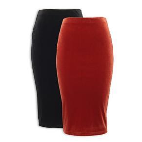 2-pack Bodycon Skirt