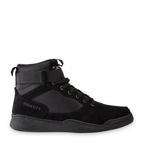 Black Hi-Top Sneakers