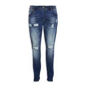 Navy Slim Leg Jeans