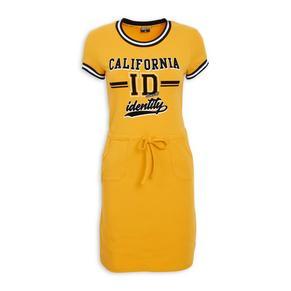 Ochre Jogger Dress