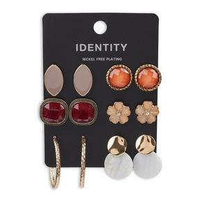 6-pack Earring Set