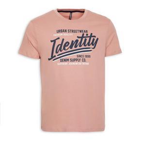 Pink Crew Neck Tee