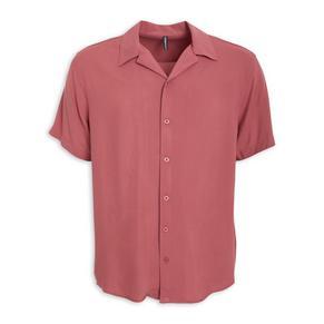 Pink Slim Fit Shirt