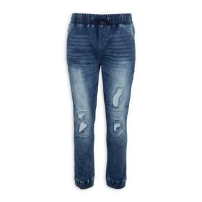 Indigo Cuffed Jeans