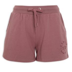 Pink Jogger Shorts