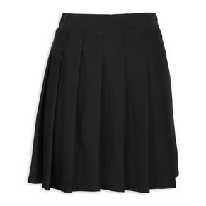 Black Kilt Skirt
