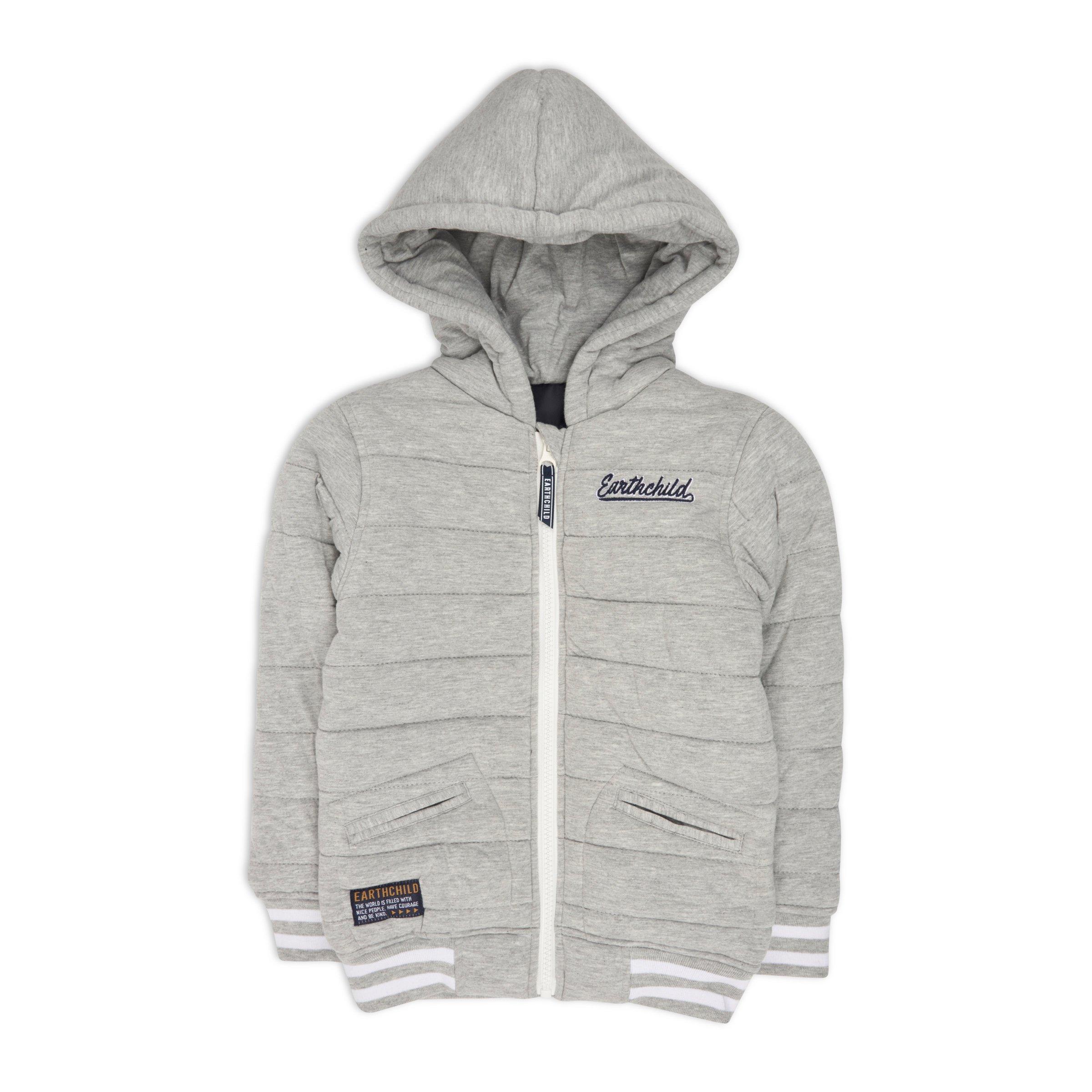 0f402035b7f29 Boys Grey Fleece Jacket