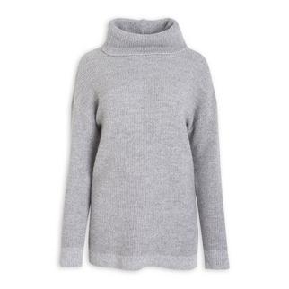 0bda9ee99d41 Quick Shop · OBR - Grey Poloneck Tunic