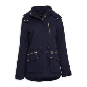 Navy Parka Jacket