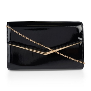 0460a75a4947 Quick Shop · Truworths - Black Patent Bag