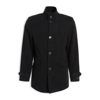 cea9ab55f63 Quick Shop · Daniel Hechter - Black Melton Coat