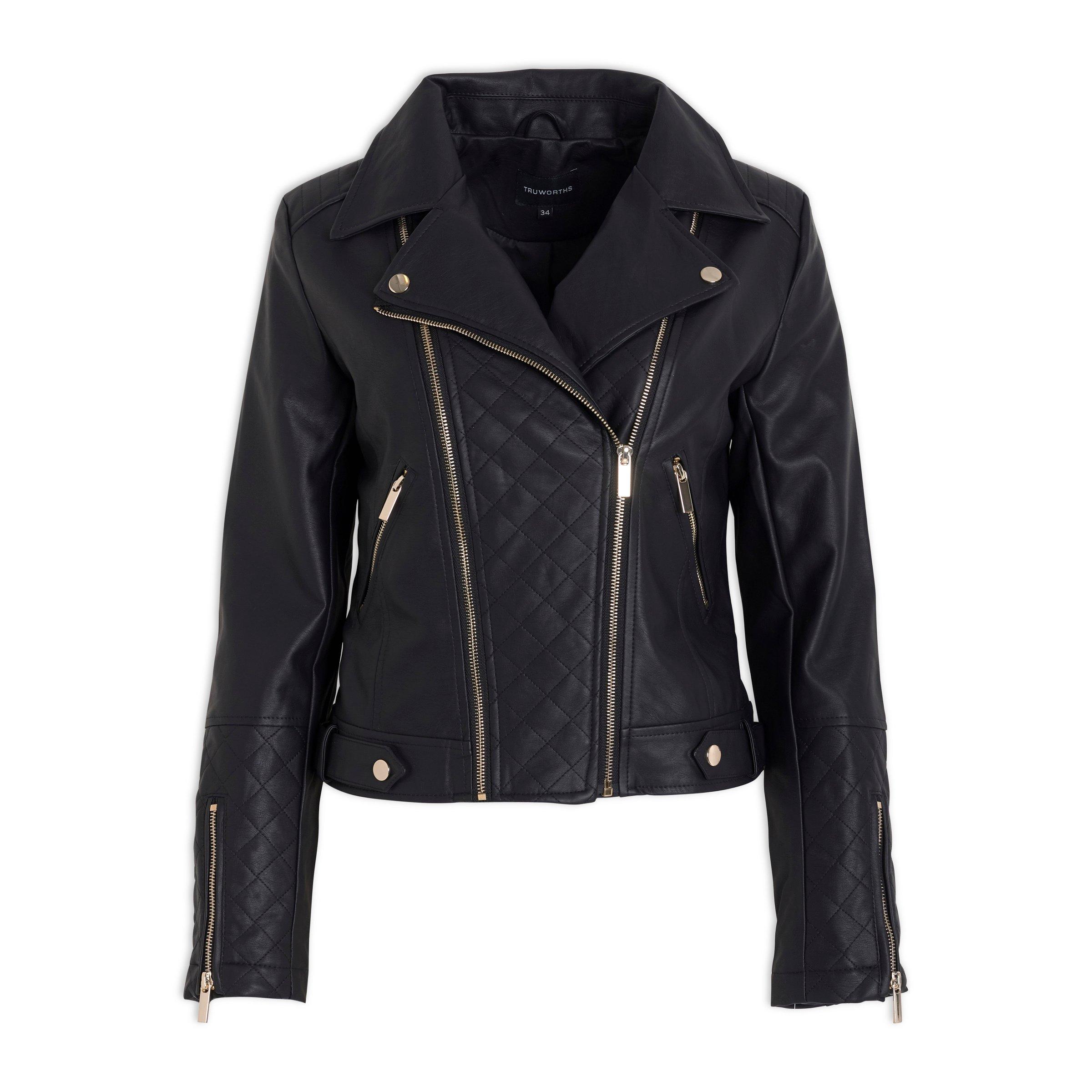 40e5cfc632 Black Biker Jacket