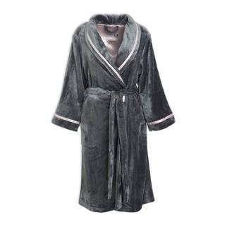 5f6421af0 Quick Shop · Intrique Lingerie - Charcoal Poly Plush Gown