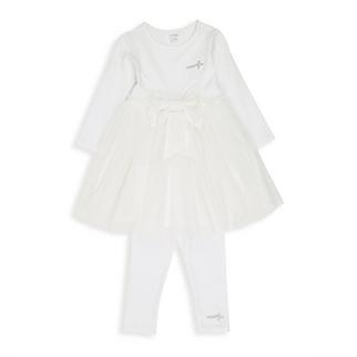 ac61bdc71 Quick Shop · Naartjie - Newborn Cream Party Dress