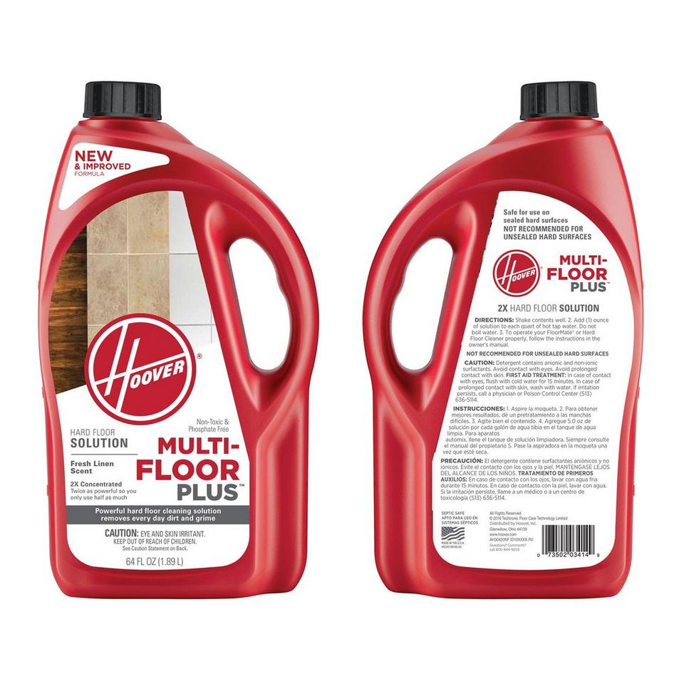 Hoover-Multi-Floor-Plus-2X-Hard-Floor-Solution-64oz-AH30420NF thumbnail 1